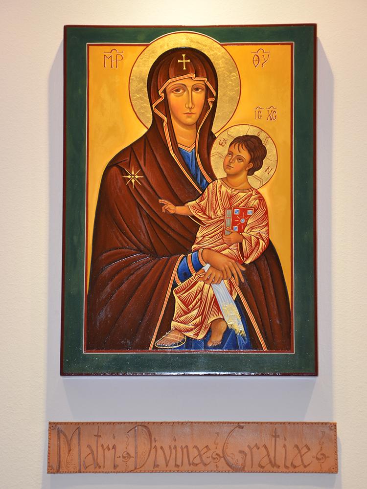 iconografia casa betel Mater Divinae Gratiae zoom